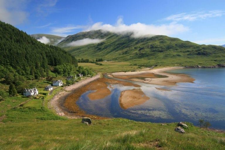 View Overlooking loch linnhe