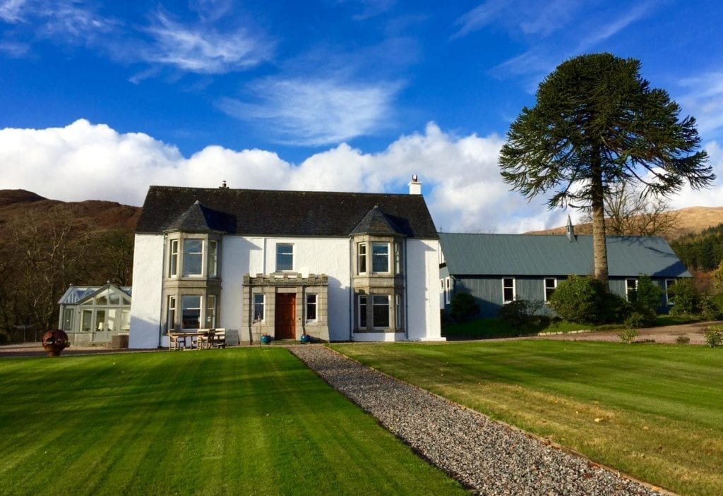 Kingairloch House Bed and Breakfast