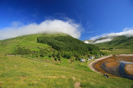 Kingairloch in the Summer